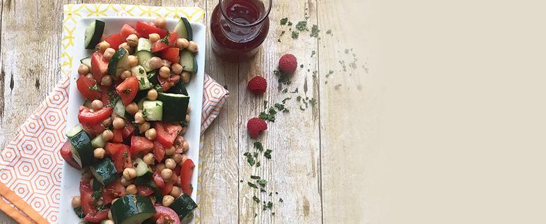 Recipe: Tomato and Chickpea Salad